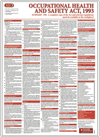 the official health and safety law poster what you need to know laminated a3 version