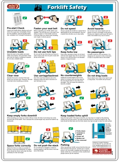 forklift operator safety mincharts